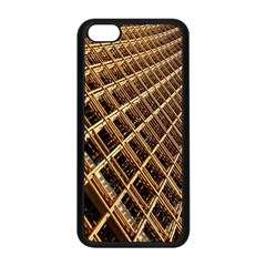 Construction Site Rusty Frames Making A Construction Site Abstract Apple Iphone 5c Seamless Case (black)