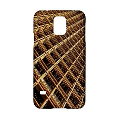 Construction Site Rusty Frames Making A Construction Site Abstract Samsung Galaxy S5 Hardshell Case  by Nexatart