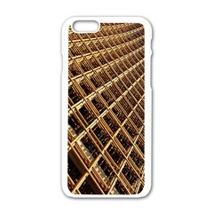Construction Site Rusty Frames Making A Construction Site Abstract Apple Iphone 6/6s White Enamel Case by Nexatart