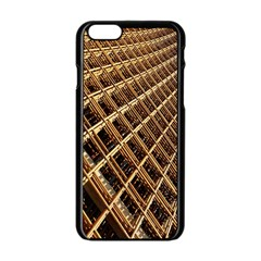 Construction Site Rusty Frames Making A Construction Site Abstract Apple Iphone 6/6s Black Enamel Case by Nexatart