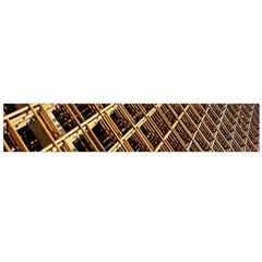 Construction Site Rusty Frames Making A Construction Site Abstract Flano Scarf (large) by Nexatart