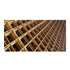 Construction Site Rusty Frames Making A Construction Site Abstract Satin Wrap by Nexatart