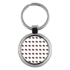 Insect Pattern Key Chains (round)