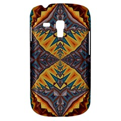 Kaleidoscopic Pattern Colorful Kaleidoscopic Pattern With Fabric Texture Galaxy S3 Mini