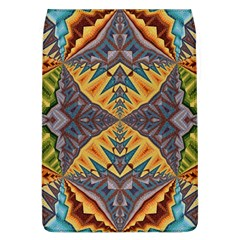Kaleidoscopic Pattern Colorful Kaleidoscopic Pattern With Fabric Texture Flap Covers (l)