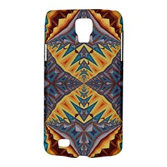 Kaleidoscopic Pattern Colorful Kaleidoscopic Pattern With Fabric Texture Galaxy S4 Active by Nexatart