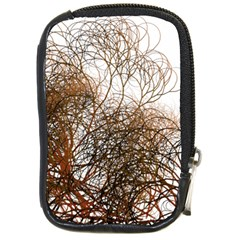 Digitally Painted Colourful Winter Branches Illustration Compact Camera Cases by Nexatart