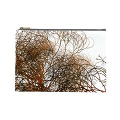 Digitally Painted Colourful Winter Branches Illustration Cosmetic Bag (large)  by Nexatart
