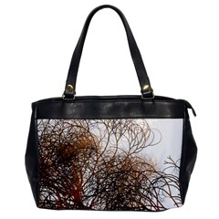 Digitally Painted Colourful Winter Branches Illustration Office Handbags by Nexatart