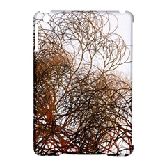 Digitally Painted Colourful Winter Branches Illustration Apple Ipad Mini Hardshell Case (compatible With Smart Cover)