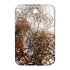 Digitally Painted Colourful Winter Branches Illustration Samsung Galaxy Note 8 0 N5100 Hardshell Case