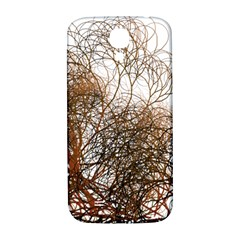 Digitally Painted Colourful Winter Branches Illustration Samsung Galaxy S4 I9500/i9505  Hardshell Back Case