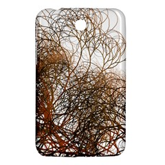 Digitally Painted Colourful Winter Branches Illustration Samsung Galaxy Tab 3 (7 ) P3200 Hardshell Case  by Nexatart