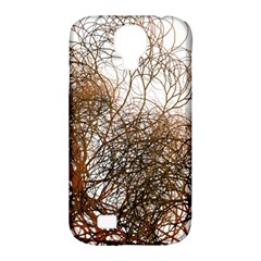Digitally Painted Colourful Winter Branches Illustration Samsung Galaxy S4 Classic Hardshell Case (pc+silicone)