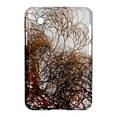 Digitally Painted Colourful Winter Branches Illustration Samsung Galaxy Tab 2 (7 ) P3100 Hardshell Case  by Nexatart