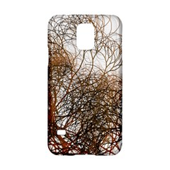 Digitally Painted Colourful Winter Branches Illustration Samsung Galaxy S5 Hardshell Case