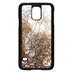 Digitally Painted Colourful Winter Branches Illustration Samsung Galaxy S5 Case (black) by Nexatart