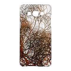 Digitally Painted Colourful Winter Branches Illustration Samsung Galaxy A5 Hardshell Case  by Nexatart