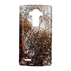 Digitally Painted Colourful Winter Branches Illustration Lg G4 Hardshell Case by Nexatart