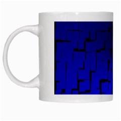 A Creative Colorful Background White Mugs by Nexatart