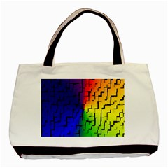 A Creative Colorful Background Basic Tote Bag by Nexatart