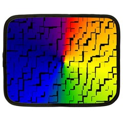 A Creative Colorful Background Netbook Case (xxl)