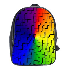 A Creative Colorful Background School Bags(large)