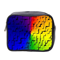 A Creative Colorful Background Mini Toiletries Bag 2 Side by Nexatart