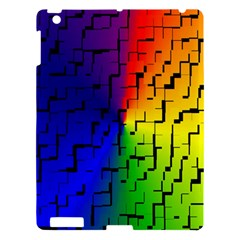 A Creative Colorful Background Apple Ipad 3/4 Hardshell Case