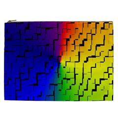 A Creative Colorful Background Cosmetic Bag (xxl)  by Nexatart