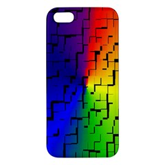A Creative Colorful Background Iphone 5s/ Se Premium Hardshell Case by Nexatart