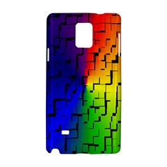 A Creative Colorful Background Samsung Galaxy Note 4 Hardshell Case by Nexatart