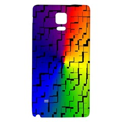 A Creative Colorful Background Galaxy Note 4 Back Case