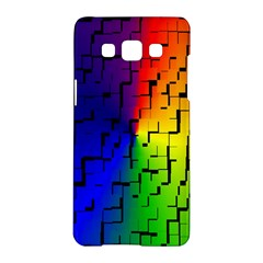 A Creative Colorful Background Samsung Galaxy A5 Hardshell Case  by Nexatart