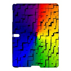 A Creative Colorful Background Samsung Galaxy Tab S (10 5 ) Hardshell Case  by Nexatart