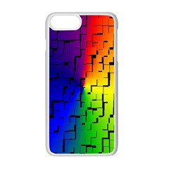 A Creative Colorful Background Apple Iphone 7 Plus White Seamless Case
