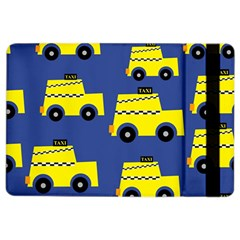 A Fun Cartoon Taxi Cab Tiling Pattern Ipad Air 2 Flip