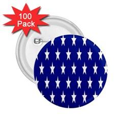 Starry Header 2 25  Buttons (100 Pack)  by Nexatart