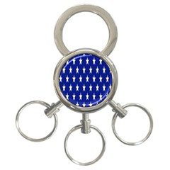 Starry Header 3 Ring Key Chains by Nexatart