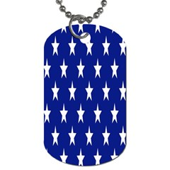 Starry Header Dog Tag (one Side)