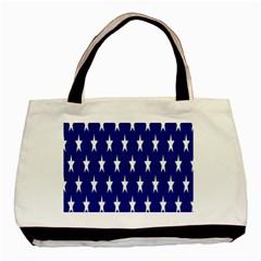 Starry Header Basic Tote Bag