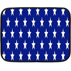 Starry Header Double Sided Fleece Blanket (mini)  by Nexatart