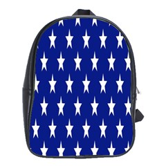 Starry Header School Bags(large)  by Nexatart
