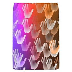 Clipart Hands Background Pattern Flap Covers (l)