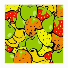 Digitally Created Funky Fruit Wallpaper Medium Glasses Cloth (2 Side)