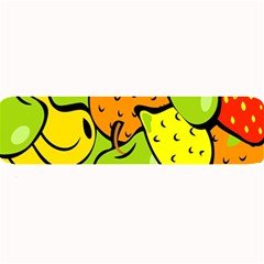 Digitally Created Funky Fruit Wallpaper Large Bar Mats by Nexatart
