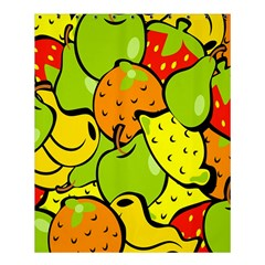 Digitally Created Funky Fruit Wallpaper Shower Curtain 60  X 72  (medium)  by Nexatart