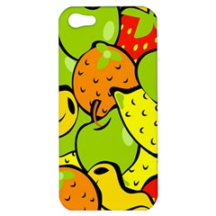 Digitally Created Funky Fruit Wallpaper Apple Iphone 5 Hardshell Case