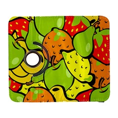 Digitally Created Funky Fruit Wallpaper Galaxy S3 (flip/folio) by Nexatart