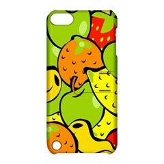 Digitally Created Funky Fruit Wallpaper Apple Ipod Touch 5 Hardshell Case With Stand